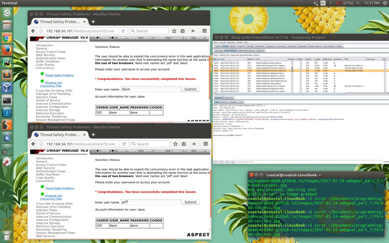 OWASP BWA WebGoat Challenge: Concurrency - byte-sized