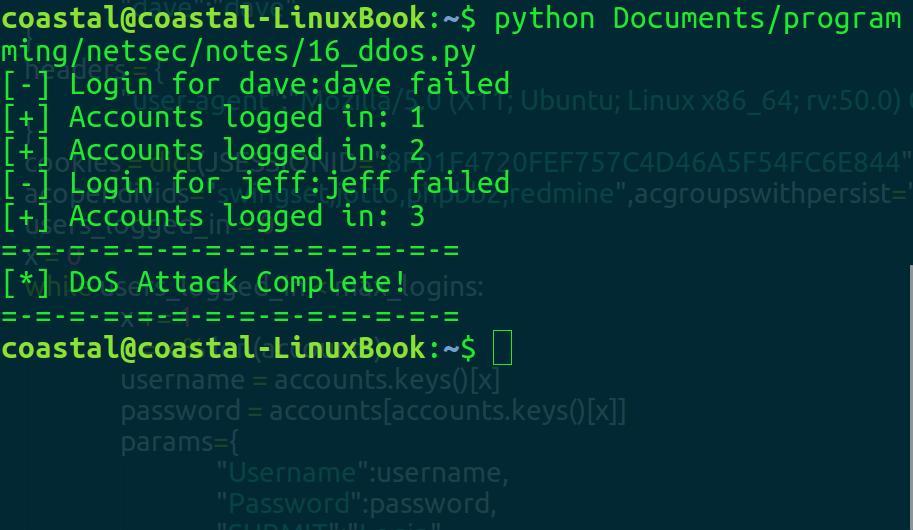 OWASP BWA WebGoat Challenge: Denial of Service - byte-sized